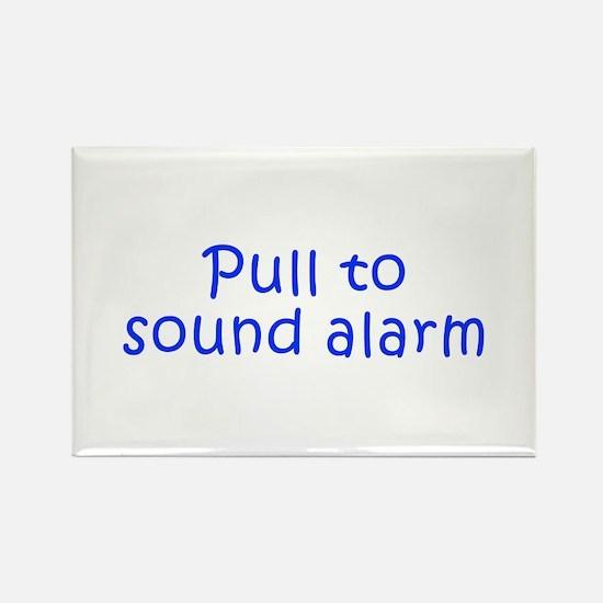 Pull to sound alarm-Kri blue 300 Magnets