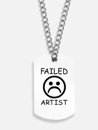 Failed Artist Dog Tags