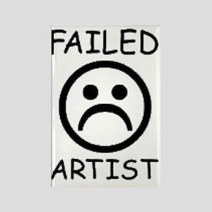 Failed Artist Rectangle Magnet