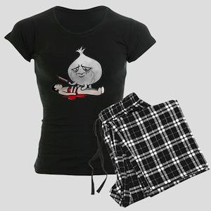 Cry Onion Women's Dark Pajamas