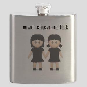 On Wednesdays, We Wear Black. Flask