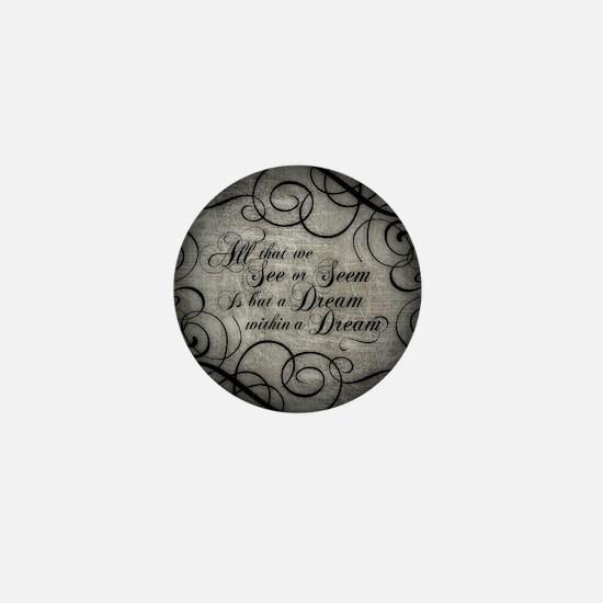 Cute Poe Mini Button