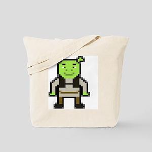 Pixel Shrek Tote Bag