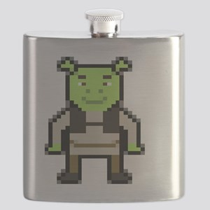 Pixel Shrek Flask
