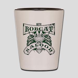 Bobcat Saloon Shot Glass