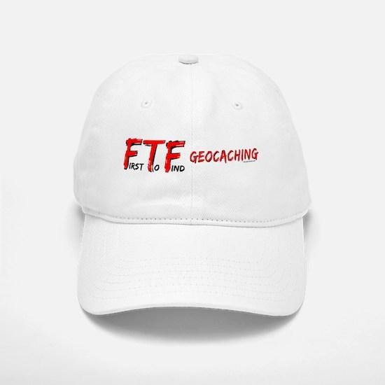 FTF geocaching Baseball Baseball Cap
