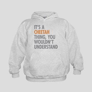 Cheetah Thing Kids Hoodie