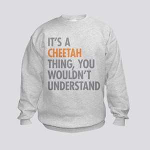 Cheetah Thing Kids Sweatshirt