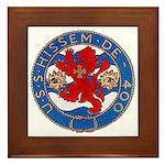 USS HISSEM Framed Tile