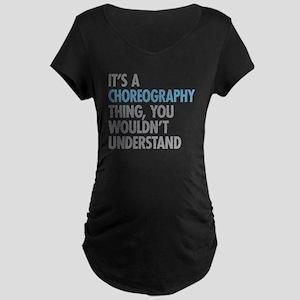 Choreography Maternity T-Shirt