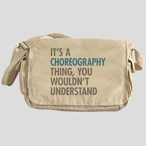 Choreography Messenger Bag