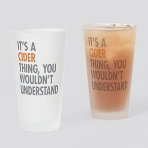 Cider Thing Drinking Glass