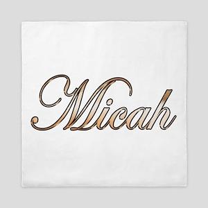 Gold Micah Queen Duvet