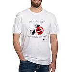 No Panda Sex before Panda Mar Fitted T-Shirt