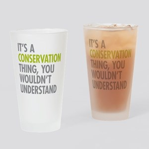Conservation Thing Drinking Glass