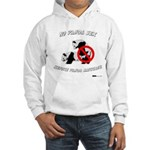 No Panda Sex before Panda Mar Hooded Sweatshirt