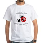 No Panda Sex before Panda Mar White T-Shirt