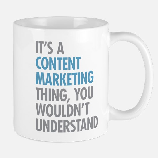 Content Marketing Thing Mugs