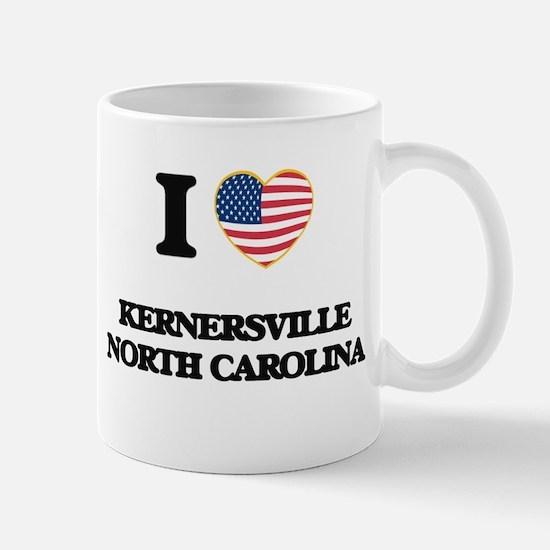 I love Kernersville North Carolina Mugs
