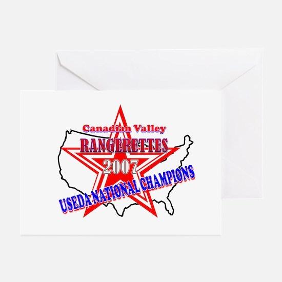 Champion Rangerettes Greeting Cards (Pk of 10)