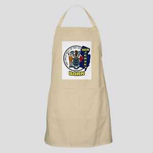 NEW JERSEY BORN Apron