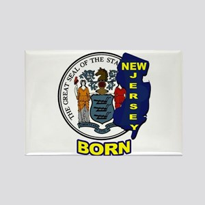 NEW JERSEY BORN Magnets