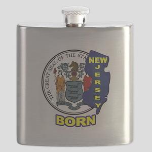 NEW JERSEY BORN Flask