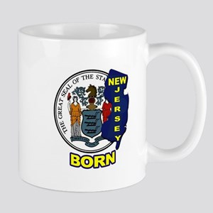 NEW JERSEY BORN Mugs