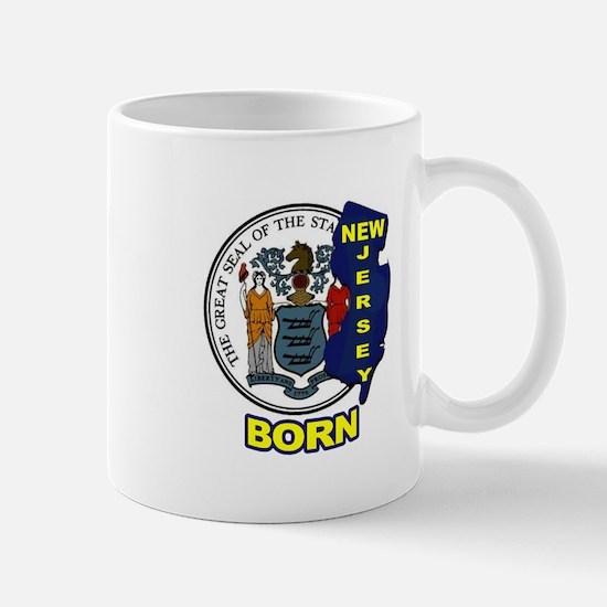NEW JERSEY BORN Mugs