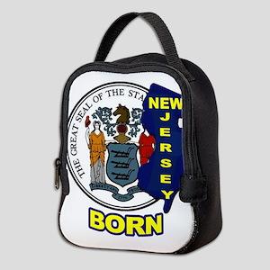 NEW JERSEY BORN Neoprene Lunch Bag