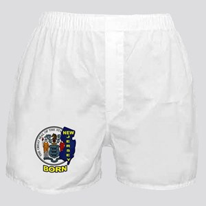 NEW JERSEY BORN Boxer Shorts