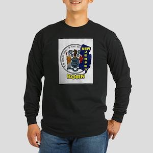 NEW JERSEY BORN Long Sleeve T-Shirt