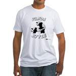 Panda Style Fitted T-Shirt