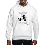 Panda Style Hooded Sweatshirt