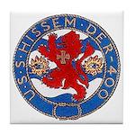 USS HISSEM Tile Coaster