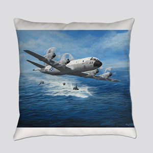 US Navy P-3C Orion Everyday Pillow