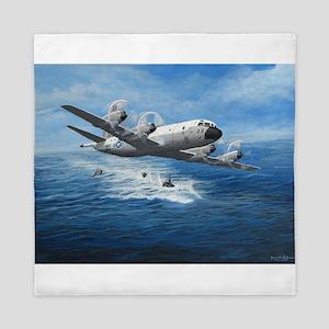 US Navy P-3C Orion Queen Duvet