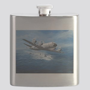 US Navy P-3C Orion Flask