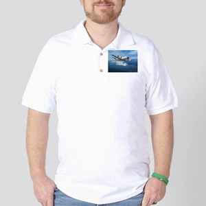 US Navy P-3C Orion Golf Shirt
