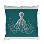 Octopus Everyday Pillow