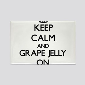Keep Calm and Grape Jelly ON Magnets