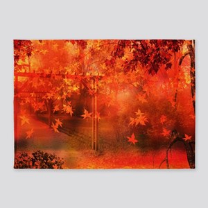 Autumn Park 5'x7'Area Rug