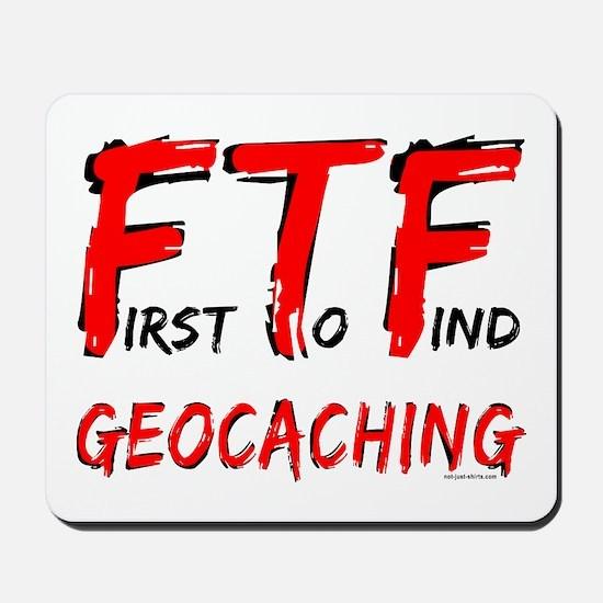 FTF Geocaching Mousepad