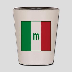 Team Italy Monogram Shot Glass