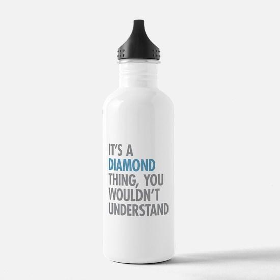 Cute Gem Water Bottle