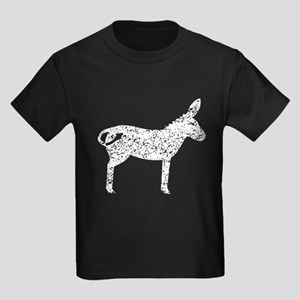 Distressed Mule Silhouette T-Shirt