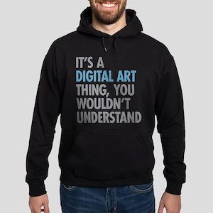 Digital Art Thing Hoodie (dark)