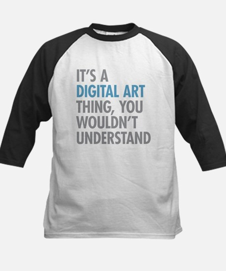 Digital Art Thing Baseball Jersey