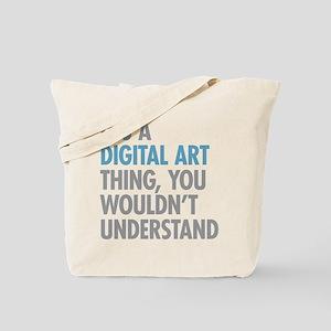 Digital Art Thing Tote Bag