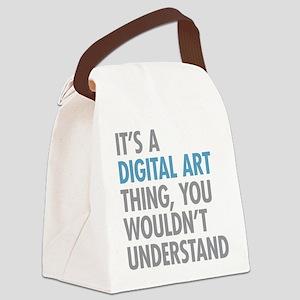 Digital Art Thing Canvas Lunch Bag